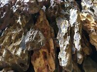 15 lbs Ohko Dragon Stone Nano Aquascape Rock ADA Aquarium Iwagumi TANK READY!!