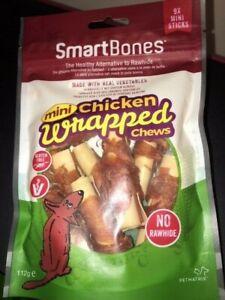 SmartBones Dog Chews Healthy Dental Chicken Vegetable Bones Treats NO RAWHIDE