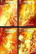 Cyber Spectre #1 (Exclusive Kickstarter Gold Variant Set, Scout Comics)