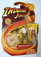 "1:18 Hasbro Indiana Jones Figure Kingdom of Crystal Skull 3 3/4"" w/ RPG Luncher"