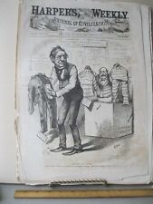 Vintage Print,ANY THING FOR CHANGE,Sept 1876,Th.Nast,Harpers,Political Cartoons