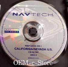 BMW & Range Rover GPS Navigation CD Map NAVIGATION MAP NAV CD 1 CA NV CALIFORNIA