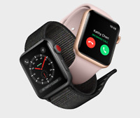 Apple Watch Series 3 42MM GPS+ Cellular 4G Aluminum Stainless Sport band-Special