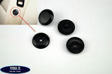 2 x Universal Kunststoff Stopper für Sicherheitsgurt - Schwarz - NEU