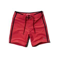 Abercrombie & Fitch A&F Prep Fit Shorts De Baño En Xs Nueva!