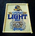 Vintage, Schlitz Light Beer Sew On Embroidered Patch, advertising, Brew, Joseph