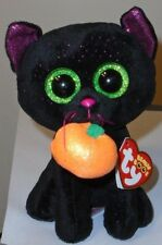 """Ty Beanie Boos - POTION the 6"""" Halloween Black Cat ~ 2018 BRAND NEW ~ IN HAND"""