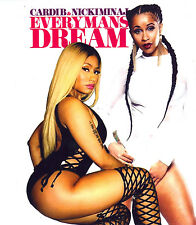 "CARDI B & NICKI MINAJ- ""EVERY MANS DREAM""   MIX CD. .SEPT '17"