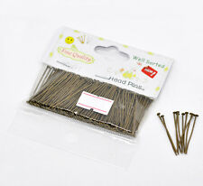 """1 Packet(300PCs) Well Sorted Antique Bronze Head Pins 3cm(1-1/8"""") SP0600"""