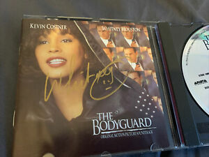 Whitney Houston The Bodyguard CD Hand Signed Autographed
