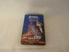 VINTAGE DECK RIVIERA HOTEL & CASINO LAS VEGAS PLAYING CARDS W/BOX & 2 JOKERS