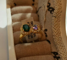 Lab-Created Amethyst Fine Rings
