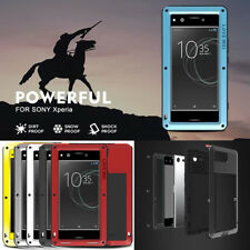 LOVE MEI Metal Waterproof Shockproof Heavy Duty Case Cover for Sony Xperia Phone