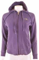 THE NORTH FACE Womens Hoodie Sweater Size 16 Large Purple Cotton  BA13