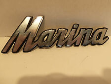 "Original Metal 5.5"" Austin MARINA British Car Truck Emblem Logo"