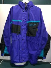 Vtg Asics Winter Snow Ski Jacket Permia Plus Parka 90s Sz L/XL