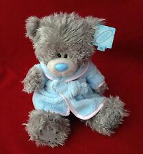 "ME TO YOU BEAR TATTY TEDDY 9"" BLUE DRESSING GOWN BEDTIME BEAR PLUSH GIFT"