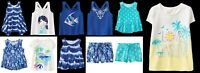NEW Gymboree girls TRUE BLUE SUMMER dress short sleeve tee shorts sz 2T 3T 4T 5T
