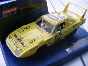 "Carrera Digital 132 30586 Plymouth Superbird Riverside 1970, "" No. 02 Only USA"