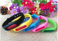Anti Mosquito Pest Insect Bugs Repeller Repellent Wristband Wrist Bracelet UP