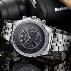 MEGIR Watches Chronograph 6 Hands 24 Hours Army Military Mens Quartz Watch