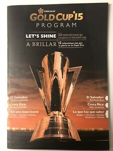CONCACAF Gold Cup '15 Program Booklet