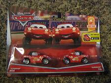 DISNEY PIXAR CARS SUPER FANS MIA & TIA RACE FANS SERIES 2 pack