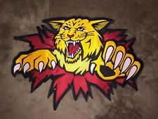 Rare Moncton Wildcats QMJHL CHL CCM Hockey Jersey Large Front Patch Crests B