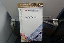 Philippine Airlines Safety Card Set -- SUMMER SALE!