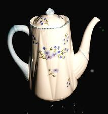 Beautiful Shelley Blue Rock Coffee Pot