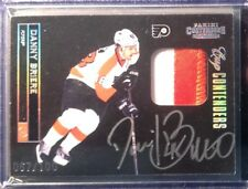 2011-12 Panini Cup Contenders Danny Briere Auto Patch Flyers Autograph SP /100
