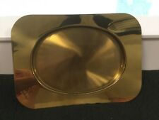 Large Brass Beucler Tray Hollywood Regency Mid Century Modern Bar Martini L@K