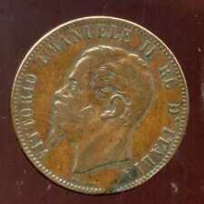 ITALIE  ITALY  10  centesimi  1867 OM     ( etat )