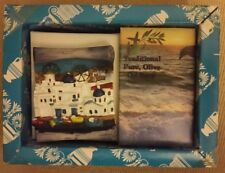 BEAUTIFULL OLIVE OIL SOAP and 3D CERAMIC SOUVENIR MAGNET from GREECE NEW/SEALED