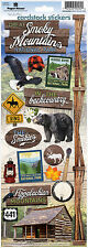 Paper House GREAT SMOKY MOUNTAINS Cardstock Stickers scrapbooking APPALACHIA
