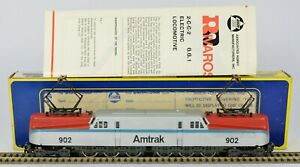 RIVAROSSI AHM 5162 GG1 ELECTRIC AMTRAK EXCELLENT RUNNER LIGHTS REALLY EXCELLENT