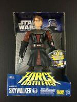 "Star Wars The Clone Wars Anakin Skywalker FORCE BATTLERS 9"" action Figure"