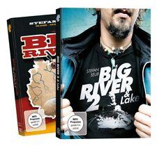 Stefan Seuß Big River + Big River 2 - DVD Set, Angelfilme über das Wallerangeln