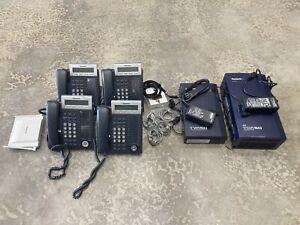 Panasonic Telephone System (4) KX-DT 343 Black, KX-T0155, KX-TVA50, KX-TVA50