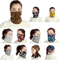 Bandana Women Scarf Face Unisex Outdoor Headband Neck Windproof Sun Protection