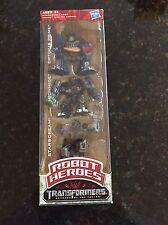 TRANSFORMERS  Hasbro Robot Heroes  NIB Starscream/Ironhide/Optimus Prime