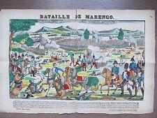 GRANDE IMAGE EPINAL 1880 BATAILLE DE MARENGO NAPOLEON DESAIX