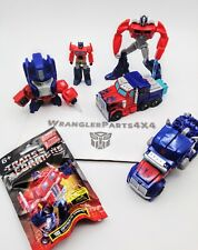 Transformers Optimus Prime Lot of 6 Figures - One Step Changer & More