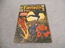 FANTASTIC FOUR # 52  1ST APPEARANCE BLACK PANTHER 1966 Cents Silver age Lot