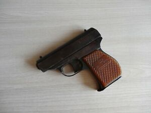 Handmade vintage lighter pistol prison zone cigarette gasoline USSR