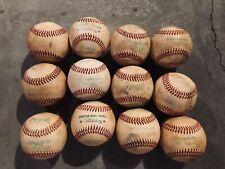 1 Dozen Used Baseballs Baseball (12 Total) Diamond Rawlings