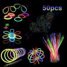 "Mostoy Glow Stick, 50 PCS 8"" Light up Toys Glowsticks with Connectors Bracelets"