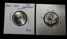 2000 March 25C Achievement Canada 25 Cents
