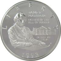 1993 S 50c Bill of Rights Commemorative Silver Half Dollar Coin Choice Proof