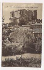 suze-la-rousse   château ,côté de la plaine